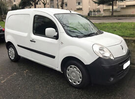 2010 Renault Kangoo ML19 Extra DCI 70 Small Panel Van, Air Con, White, Side Door