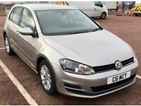 2014 (14) Volkswagen Golf 1.6 TDI 105 SE DSG BlueMotion Tech 5dr Hatchback (Start/Stop) 33,000 Miles