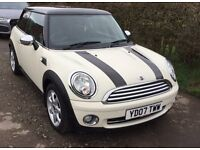 2007 Mini Cooper 1.6 with Chilli Pack, Chrome Pack and Heated Seats