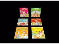 MINI HARD BACK BOOKS-NURSERY RHYMES-X 8 SETS-48 BOOKS-BULK BUY-JOB LOT
