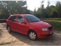2000 (w) Skoda Fabia 1.4 comfort 5 door hatchback