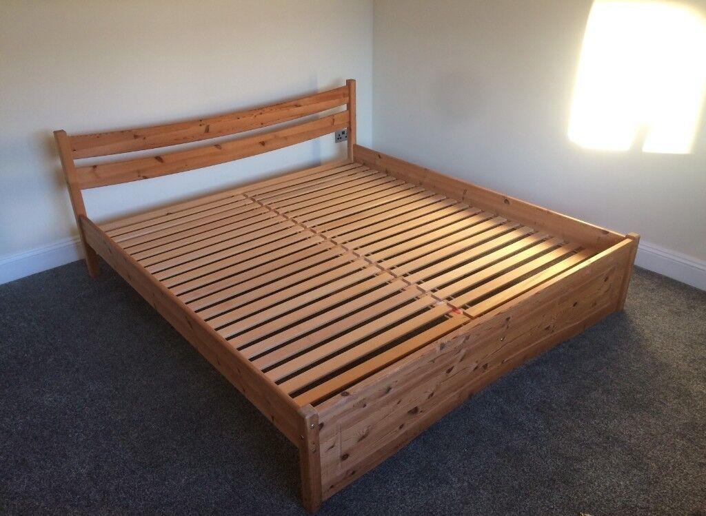 Super King Size Wooden Bed Frame In St George Bristol Gumtree
