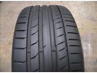 255/35/19ZR M0 Continental Tyre - Hardly Used! 7MM+! No Repairs/Damage! ESSEX! Make an offer.