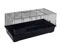 Used 120cm rabbit cage and food with accessories