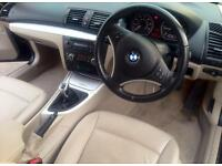 Bmw 118d leather interior 1 owner bmwsh PX possible