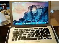 Macbook air 13 inch bought may 2015