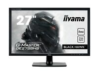 "iiYAMA GE2788HS 27"" 1ms Full HD LED Gaming Monitor with AMD FreeSync - Black"