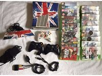 Cheap Xbox 360 slim with KINNECT PLUS 21 top games * * * £ 150 * * *