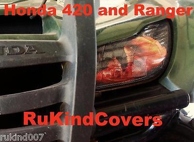 Honda TRX 420 TRX420 Rancher  Headlight Covers  RUKINDCOVER