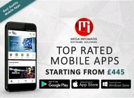 TOP RATED WEBSITES, MOBILE APPS DESIGN AND DEVELOPMENT