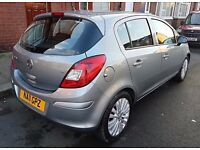 2011/11 VAUXHALL CORSA 1.2 EXCITE 5 DR FSH + 1 FORMER OWNER + 2 KEYS + AUX +MINT COND DRIVES AS NEW