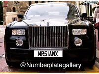 MRS LAW Number Plate
