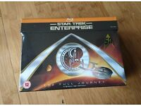 Star Trek Enterprise COMPLETE Blu Ray DVD Set - NEW - 24 discs - 97 episodes - special features!