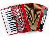 New Sila 48 Bass Piano Accordion