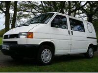 118k miles, 12mth MOT, DVLA Campervan 2002 (LEZ free) carefully maintained VW T4 Camper Transporter