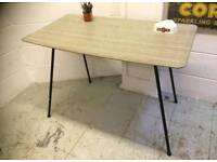 FORMICA 1950S DINING TABLE