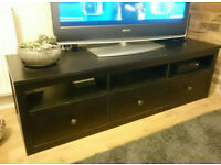 Wooden Coffee Table / TV Stand with Drawers