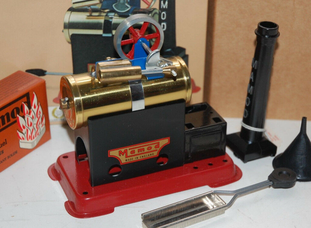 MAMOD STATIONARY STEAM ENGINE SP1 BOXED NEAR MINT IN BOX