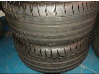 245/40/18 excellent tread £25 also other sizes having a garage clearout