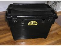 RIVA GALAXY FISHING SEAT BOX WITH STRAP AND 2 SIDE TRAYS