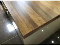 Designer WREN kitchen wood island worktop