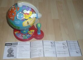 VTECH FLY & LEARN GLOBE with User's sheet
