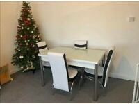 🍒🔥🔥BRAND NEW🔥🔥ON FIERY EXTENDABLE DINING TABLE WITH 6 CHAIRS