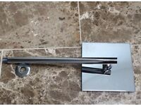 "200mm 8"" shower head and wall arm"