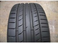 255/35/19ZR M0 Continental Tyre - Hardly Used! No Repairs/Damage! ESSEX! Make an offer.
