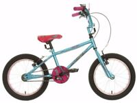 "(3100) 16"" APOLLO ROXIE Girls Kids Childs Bike Bicycle Age: 5-7, Height: 105-120 cm"
