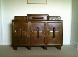 Art Deco Sideboard, retro, vintage. Delivery possible.