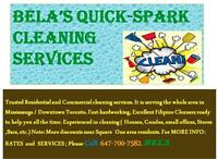 EXCELLENT SPECIAL DETAILED CLEANING..Contract/One-time Cleaning