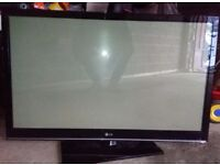 """50"""" LG 50PT353K HD plasma tv with freeview 2x HDMI and USB in good condition can deliver"""