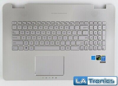 Genuine ASUS N751J N751JK Keyboard Palmrest Touchpad 13NB06K1AM0331