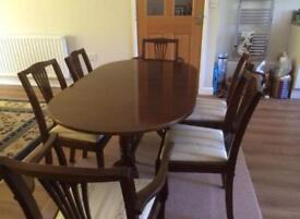 Antique Extending Dining Table