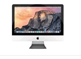 Apple iMac 21.5in with apple wireless mouse and keypad *excellect condition*