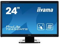 IIYAMA 24 inch Muliti Touch Screen Monitor Full HD 1920 x 1080 - T2452MTS-B4