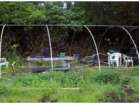Large 45ft x 20ft polytunnel frame in ex condition. Will swap for power link box in ex condition