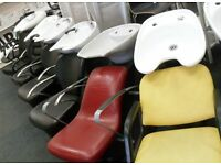 Hairdressing / Barber / Salon Furniture / Beauty / Backwash / Styling Chair / Mirror