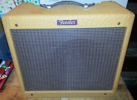 Fender Blues Junior Lacquered Tweed Guitar Amplifier
