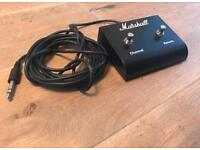 Marshall Amp Channel and Reverb Pedal