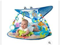 Finding Nemo activity gym and play mat