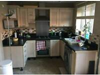 Complete kitchen and appliances.