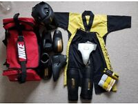 Child Taekwondo TAGB Sparring Kit/Sparring Gear