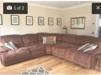 Corner recliner sofa/suite
