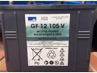 Storage battery/leisure battery