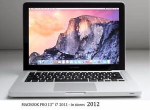 MACBOOK PRO 13 i7 2.7 GHZ 4GB 500GB +OFFICE PRO 2016 + FINAL CUT PRO X + LOGIC PRO X + MASTER SUITE DE ADOBE CS6