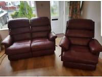 2 seater an 1 seater sofa