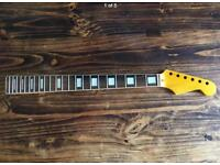 Jazzmaster guitar neck with Block inlays for Fender Squier