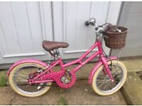 Pendleton Ashbury girls bike 16 inch wheels for age 4-6 years JUST SERVICED £150 in Halfords